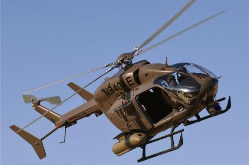 Eurocopter Armed Scout AAS72 X