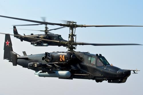 Kamov Black Shark Ka-50